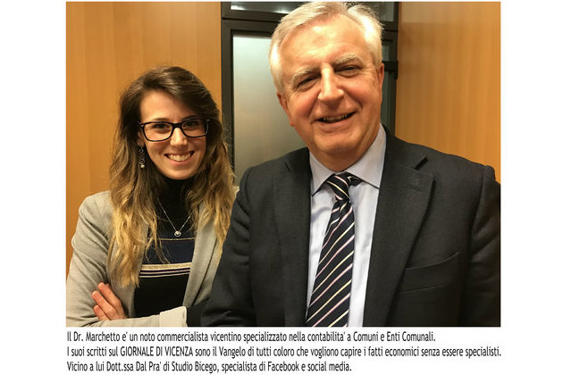 Incontro con Dott. Marchetto, noto commercialista vicentino