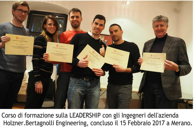 Conclusione Corso LEADERSHIP