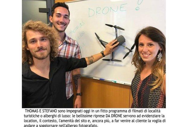 Il DRONE cambia prospettiva!