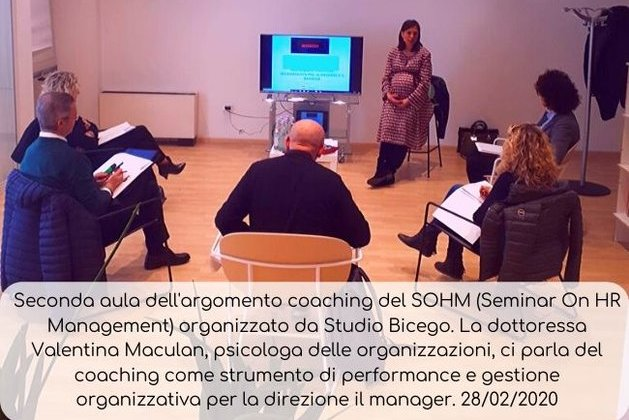 Seconda Aula Coaching SOHM