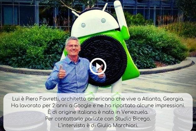 Piero Favretti a Studio Bicego