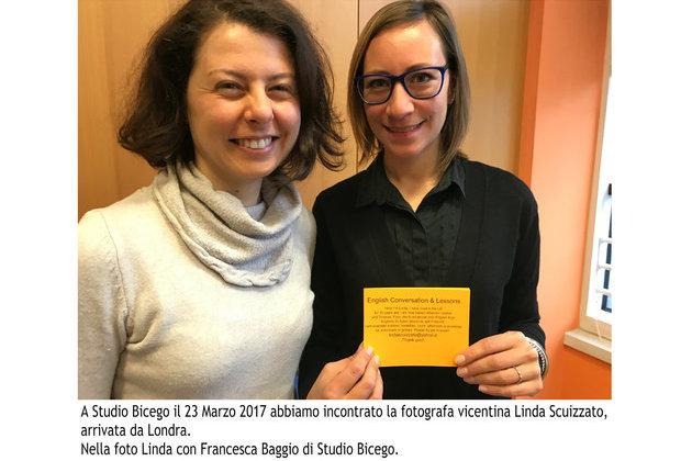 Incontro con Linda Scuizzato